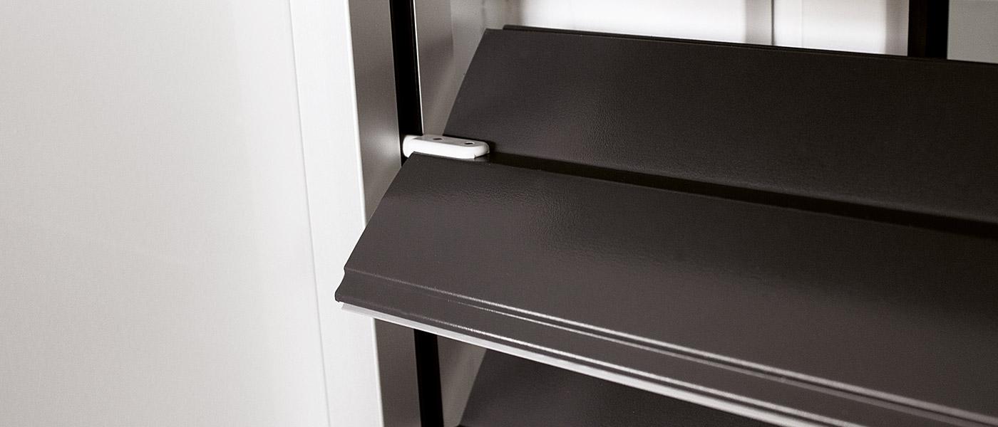 store lamelles good lamelles extrieures en aluminium motorises mv store chantier crisne with. Black Bedroom Furniture Sets. Home Design Ideas